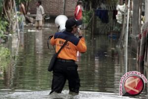 Pemukiman Warga Tergenang Banjir