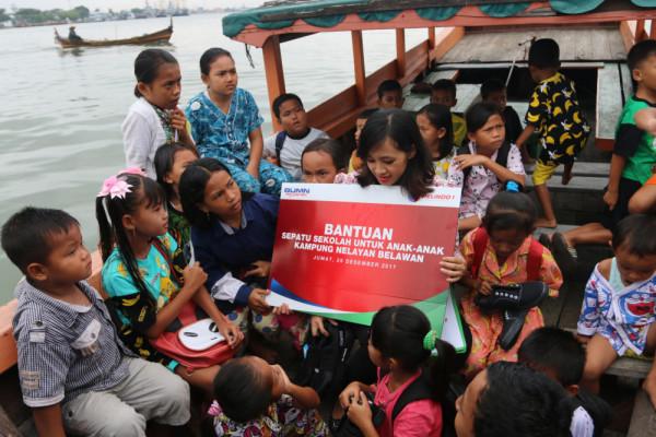 Pelindo I bantu anak nelayan
