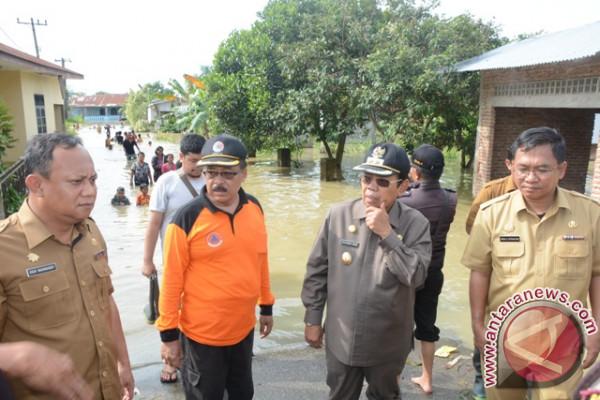 Wabup Tinjau Banjir
