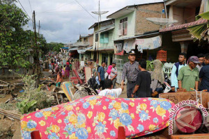 Sebanyak 444 Warga Di Simalungun Terdampak Banjir