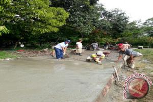 Hujan Hambat Bangunan Dana Desa