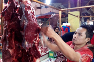 Harga daging makin tinggi