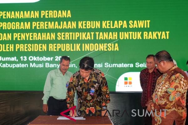 Program replanting terkendala sinergitas anggaran