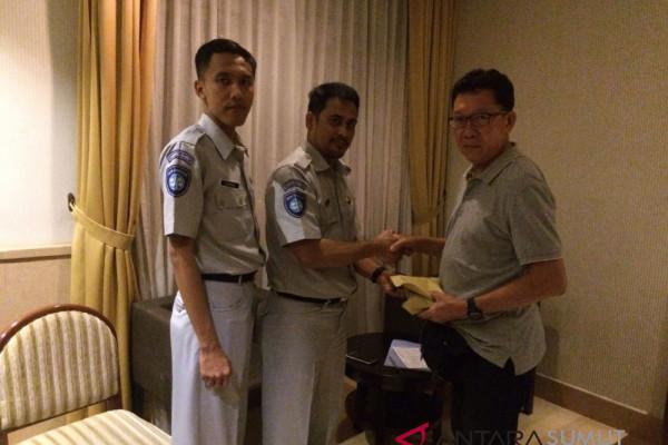 Jasa Raharja serahkan santunan kepada turis Malaysia