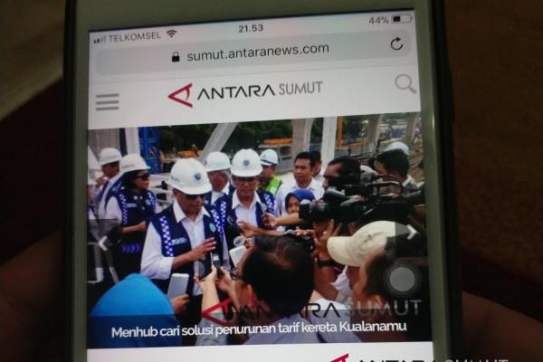 Pemkot minta media online penghubung informasi pembangunan