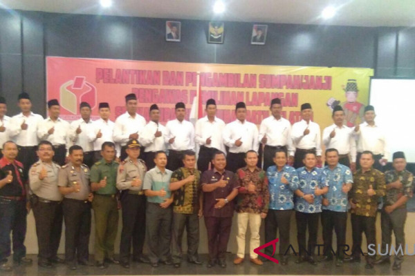54 PPL Labusel resmi dilantik