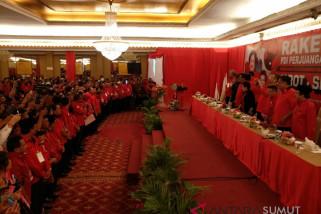 Megawati saksikan ikrar pemenangan Djarot-Sihar