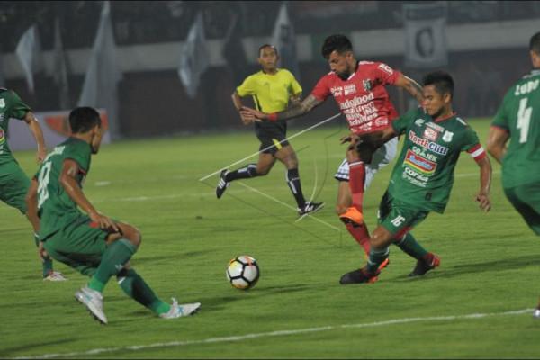 PSMS kalah tipis dari Bali United