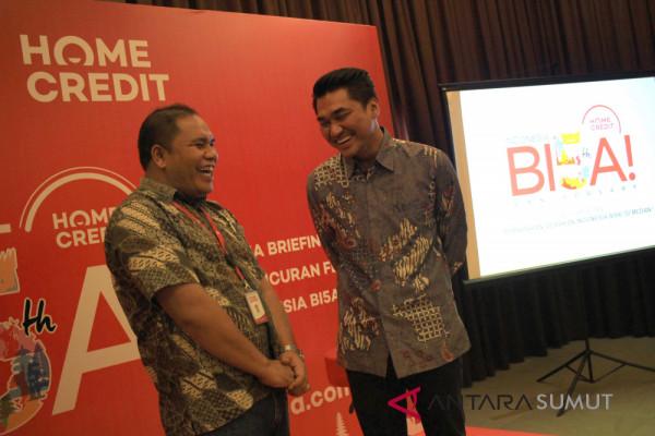 Peluncuran Gerakan Indonesia Bisa Home Credit