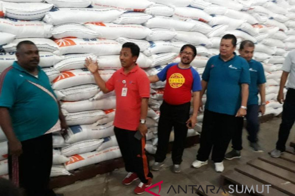 10.000 ton beras India sudah sampai ke Belawan