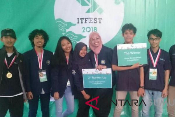 Mahasiswa Universitas Budi Luhur Juara ITFest 2018