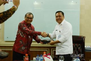 Bupati terima kunjungan Bank Indonesia