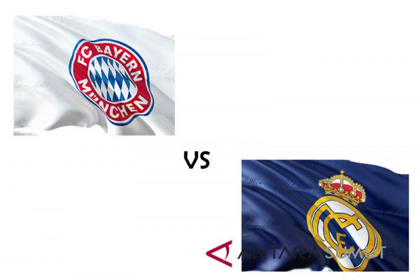 Real Menang 2-1 di kandang Bayern Munchen