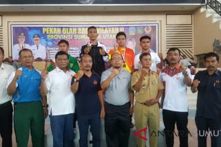 Kabupaten Asahan juara umum karate Porwilsu wilayah II