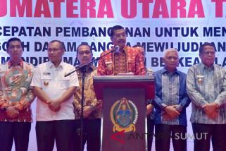 Pusat diminta perhatikan proyek strategis di Sumut