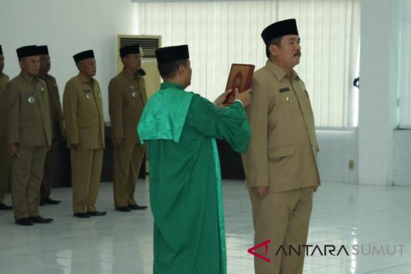 Taufik ZA Sekda baru Kabupaten Asahan