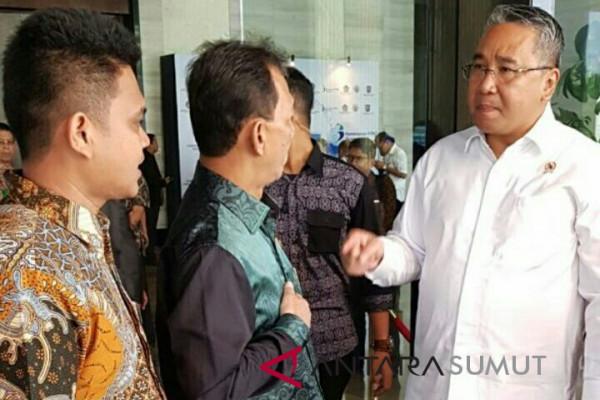 Bupati Tapsel hadiri Rakornas percepatan dana desa 2018