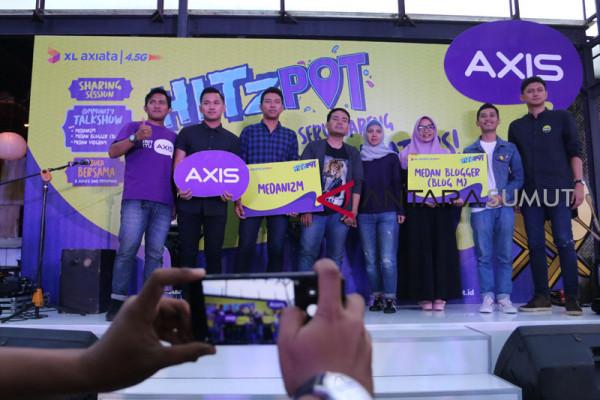 Axis Gelar Hitzspot ke 4 di Kota Medan