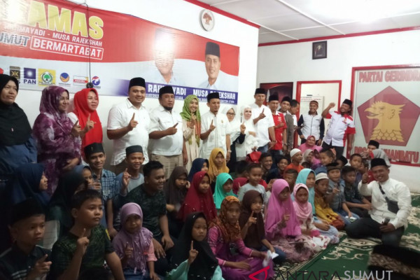 DPC Gerindra Labuhanbatu peduli sosial masyarakat