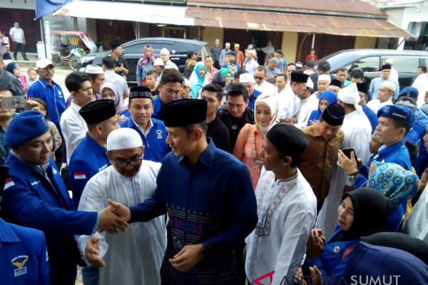 AHY akan investigasi ke Riau terkait perusakan atribut partai