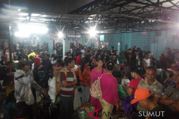 H-2 penumpang di pelabuhan Sibolga naik 200 persen