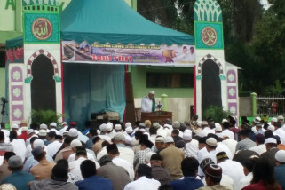 Juara hafiz internasional imami Sholat Ied di Aekkanopan