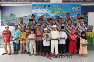 PWI Tanjungbalai santuni anak yatim