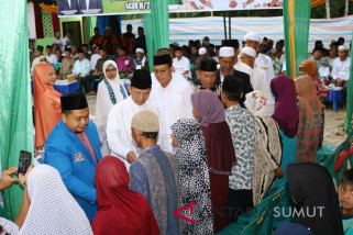 Safari Ramadan Pemkab Tapsel berakhir di Angkola Barat