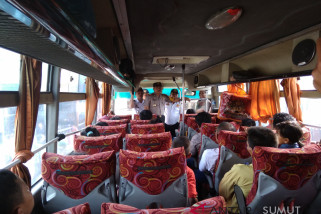 Tim terpadu monitoring angkutan lebaran di terminal madya Tarutung