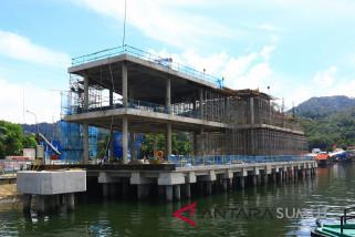 Pembangunan pelabuhan Sibolga selesai Oktober 2018