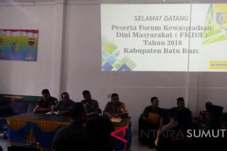 Kakan Kesbangpol Batubara buka Rapat Koordinasi FKDM