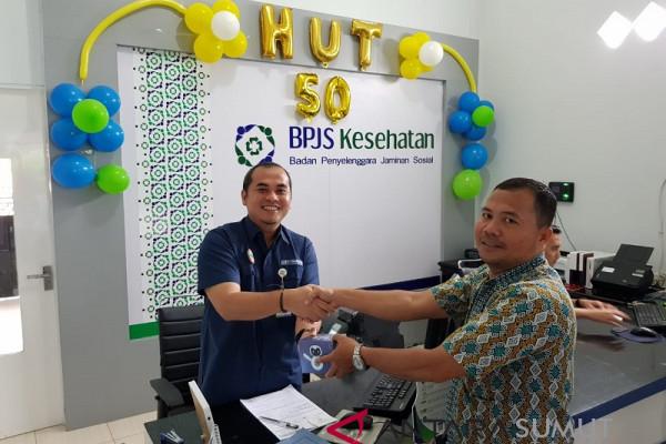 Kepala BPJS kesehatan Sibolga layani langsung masyarakat