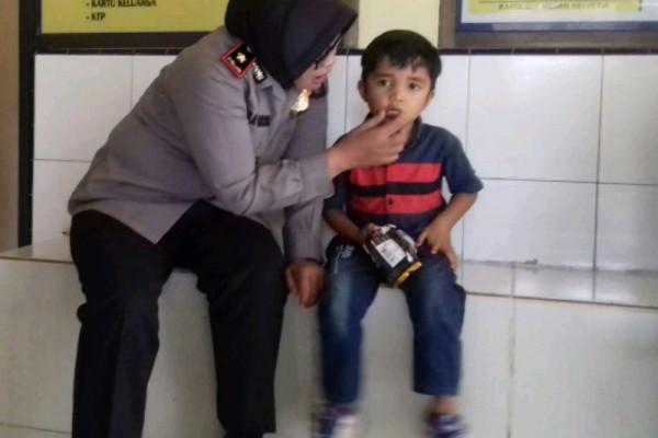 Bocah lima tahun hilang akhirnya dijemput keluarganya