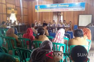 Tim Penilai Kecamatan Terbaik Kunjungi Medang Deras