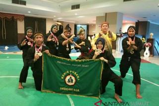 Unimed raih emas di kejuaraan silat internasional