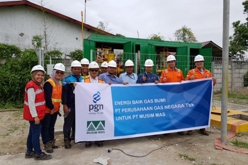 PGN Medan dapat pelanggan baru Musim Mas