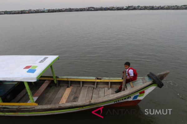 Pertamina Bantu Kampung Nelayan