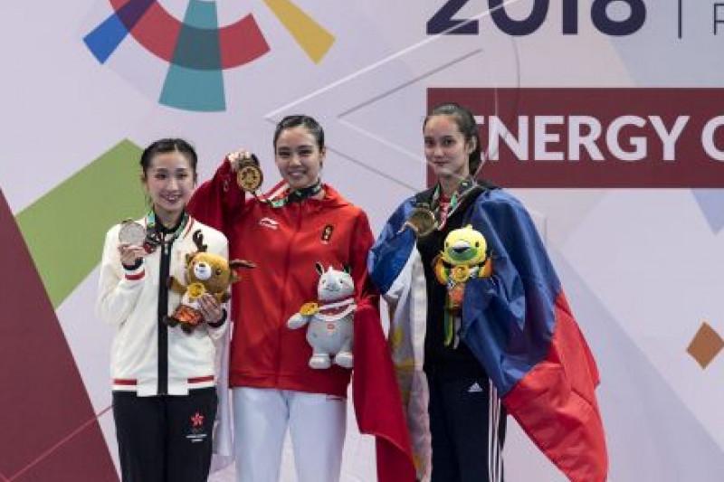 Asian Games - Lindswell persembahkan emas kedua bagi Indonesia