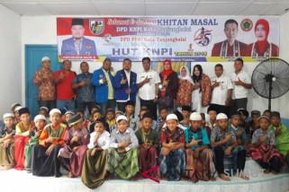KNPI-PPNI khitan 45 anak Tanjungbalai