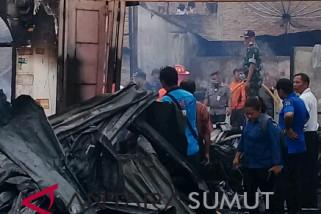 Sembilan rumah terbakar di Pematangsiantar