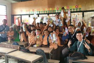 Karyawan BPJS Ketenagakerjaan Siantar peduli sekolah