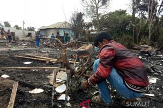 14 rumah di Simalungun terbakar