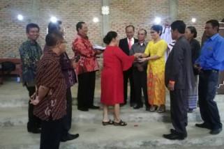 Pemkab Samosir kunjungan rohani ke Ronggur Nihuta