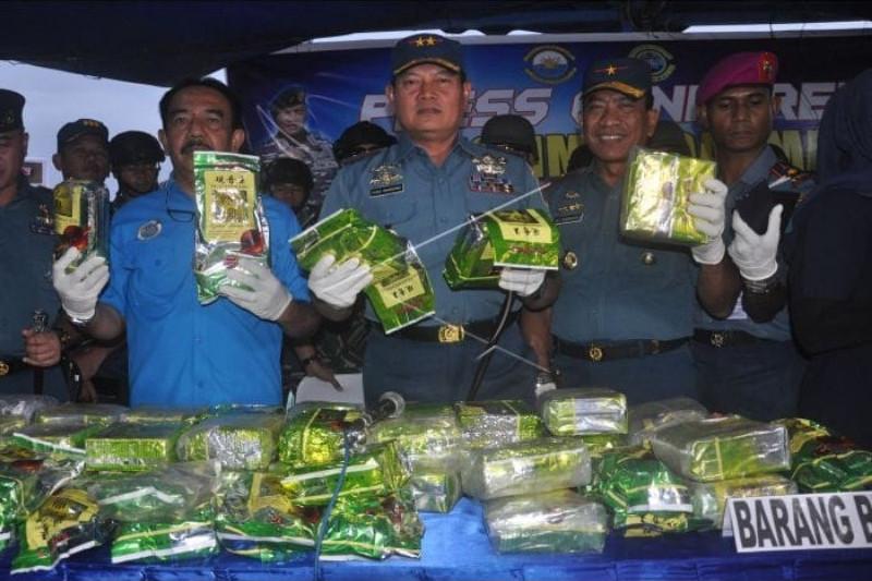 TNI AL gagalkan penyelundupan 67,42 KG shabu