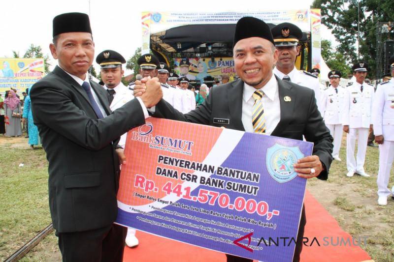 PT. Bank Sumut saluran CSR