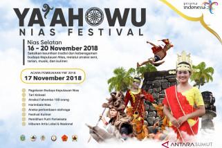 Nias Selatan Gelar Ya'ahowu Nias Festival