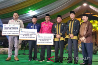 Sumut bantu bencana Sulawesi Tengah Rp500 juta