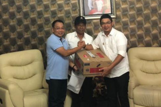 Wali Kota Binjai bantu korban gempa Palu