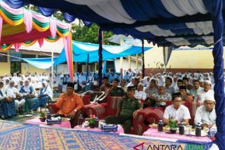 Masyarakat Batangtoru komit sukeskan Pemilu 2019 damai