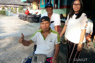Disabel Pematangsiantar dukung Asian Para Games
